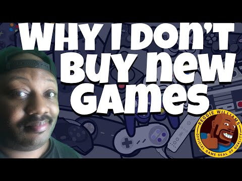 Why I Don't Buy New Games