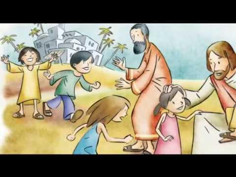 Resultado de imagen de JESÚS AMIGO DE LOS NIÑOS SM