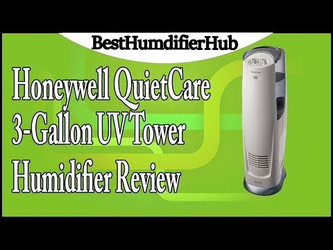 honeywell quietcare 3 gallon uv tower humidifier review honeywell quietcare 3 gallon uv tower humidifier review