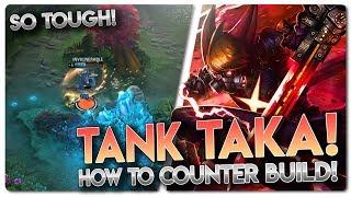 WHEN TO GO TANK TAKA!! Vainglory 3v3 [Ranked] Gameplay - Taka |WP/Tank| Jungle Gameplay