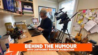 British cartoonist Royston Robertson - Behind the humour