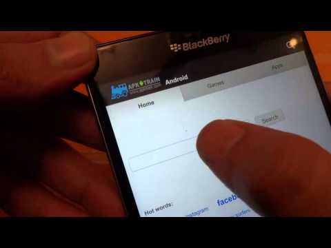 How To Install Android Apps On BlackBerry