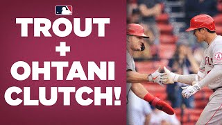 Down with two outs in 9th?? Mike Trout and Shohei Ohtani CAME THROUGH with no outs to spare!