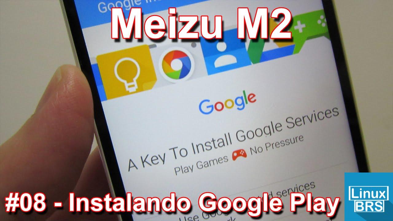 Meizu M2 - Instalando Google Play pelo Google Installer - Português