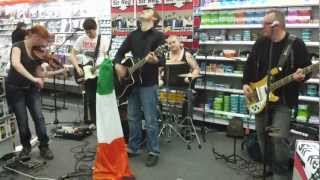 Sir Reg - Feck the celtic tiger (Media Markt Stockholm 2012-03-01)