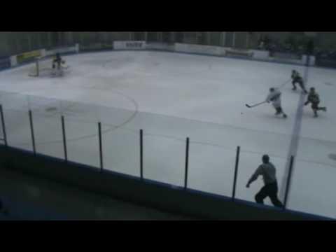 Oakland University Hockey Brett Haugh goal vs pitt