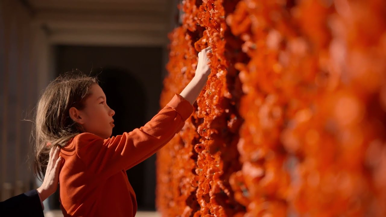 Place a virtual poppy online for Anzac Day 2021