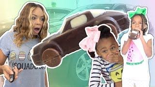 Magic Trick Turns Car Into Real Food Chocolate Candy | Pretend Play