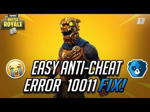 FIX  Easy Anti-Cheat  Error 10011 In Fortnite Battle Royale - Chapter 2 Season 2
