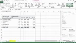 Custom grouping in PivotTables | Excel tips | lynda.com thumbnail