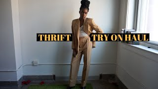 #howtostyle THRIFT TRY ON HAUL!!!