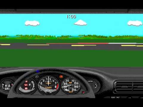 Stunts (PC, 1990) Gameplay