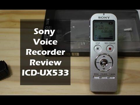 sony icd ux533. sony icd ux533
