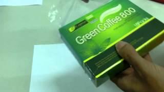 Leptin Green Coffee 800 - зеленый кофе для похудения.