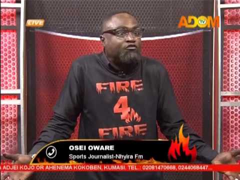 Commentary Position - Fire 4 Fire on Adom TV (23-3-17)