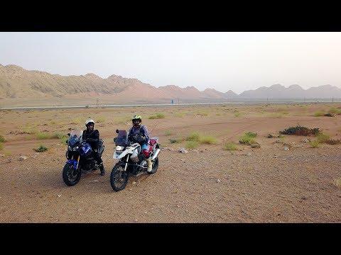 2017 Super Tenere + R1200GS + Africa Twin | Off-Road | DJI Mavic | Dubai