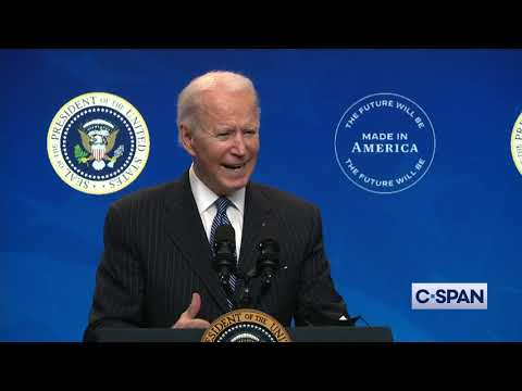 President Biden on COVID-19 and vaccine distribution