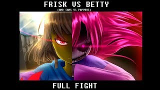 Frisk vs Bete Noire FULL FIGHT SCENE | Glitchtale S2 Ep4 (Part 2)