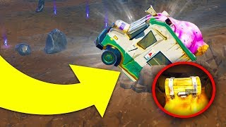 HOW TO REMOVE DUSTY DIVOT TRUCK IN *ONE* HIT! (Fortnite Battle Royale Season 4)