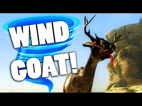 HOW TO GET TORNADO GOAT! - Goat Simulator Wind Relic Guide (#3)