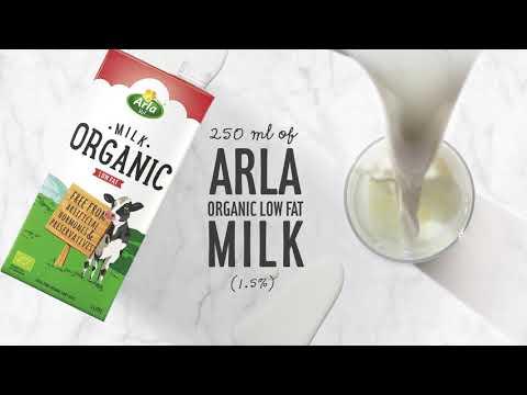 Arla Organic Creamy Latte Recipe