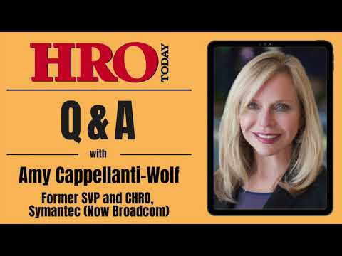 HRO Today Q&A with Amy Cappellanti-Wolf - YouTube