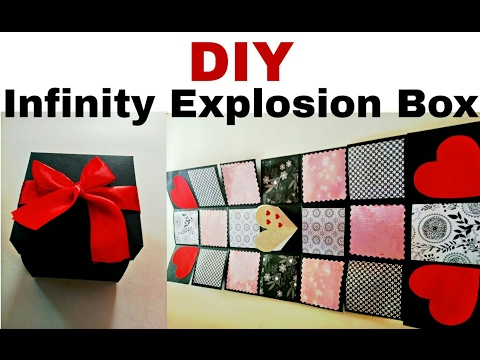 DIY - Infinity Explosion Box | How to Make Explosion Box