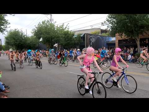 Naked Bicyclists Uncut - Fremont Solstice Parade 2019 Seattle