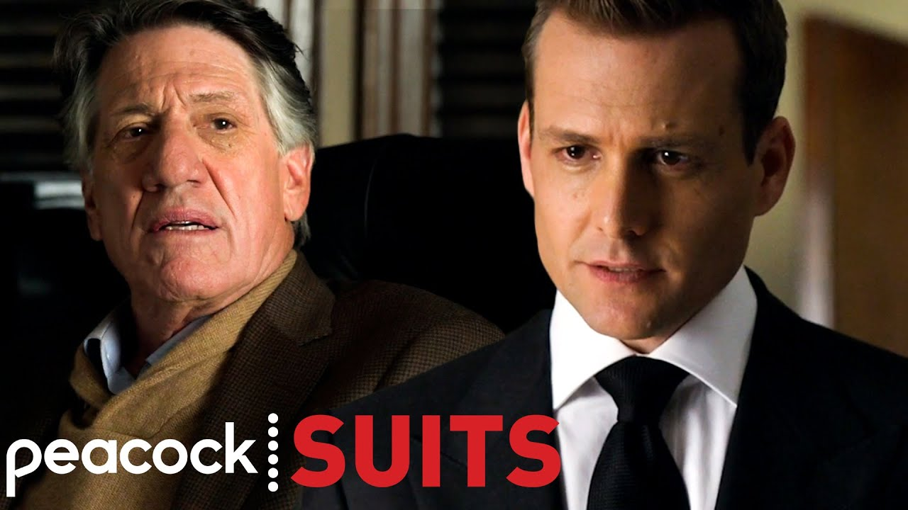 Harvey Faces Professor Gerard To Cover Mike's Secret | Suits
