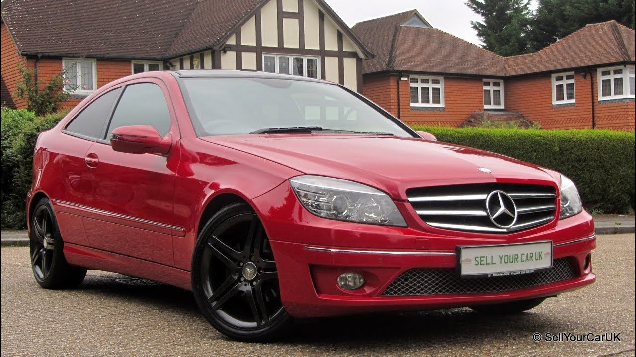 Sold Using Your Car Uk 2010 Mercedes Clc 180 Kompressor