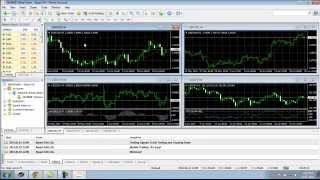 Forex Basics - How To Install Forex Meta Trader 4 (MT4) for Technical Analysis