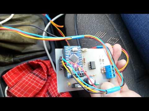 видео: Бортовой компьютер на базе arduino pro mini