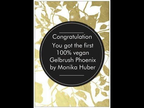 Vegan Allround Gelbrush by Phoenix by Monika Huber