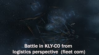 Battle in KLY-C0 from logistics perspective (fleet com)