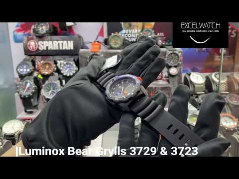 Luminox Bear Grylls 3729 & 3723