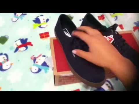 9b2a26aa9b vans- authentic lopro (unboxing) - YouTube