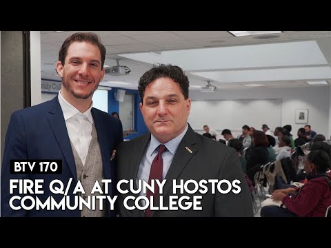 FIRE Q/A at CUNY Hostos Community College | BTV 170
