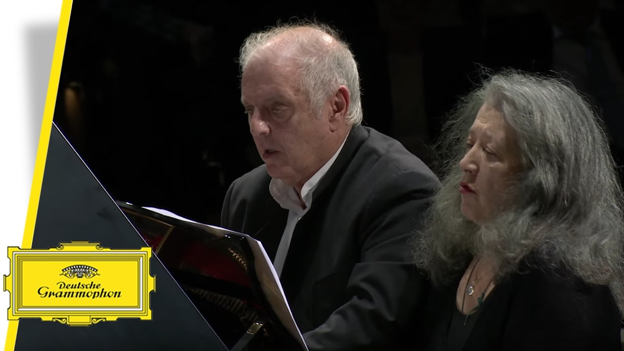 Martha Argerich / Daniel Barenboim: Piano Duos (Album trailer)