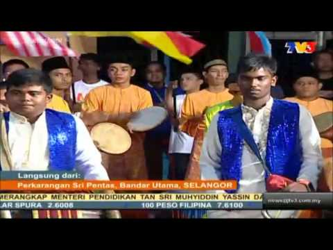 The Malaysian Beat With SMKTKU @ TV3