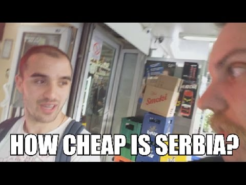 Moving to Serbia? (Episode 02) - The cost of living? CHEAP!!!