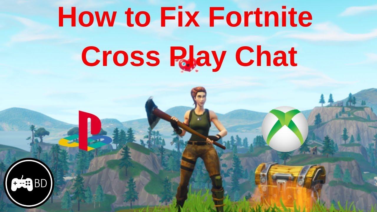 Fortnite Party Audio Cross Platform Bug How To Fix Cross Platform Chat On Fortnite Youtube