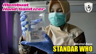 Membuat hand sanitizer | alcohol-base ...