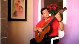 Aguas de Marzo Bossa Nova Guitar Solo Ramiro Zacarias