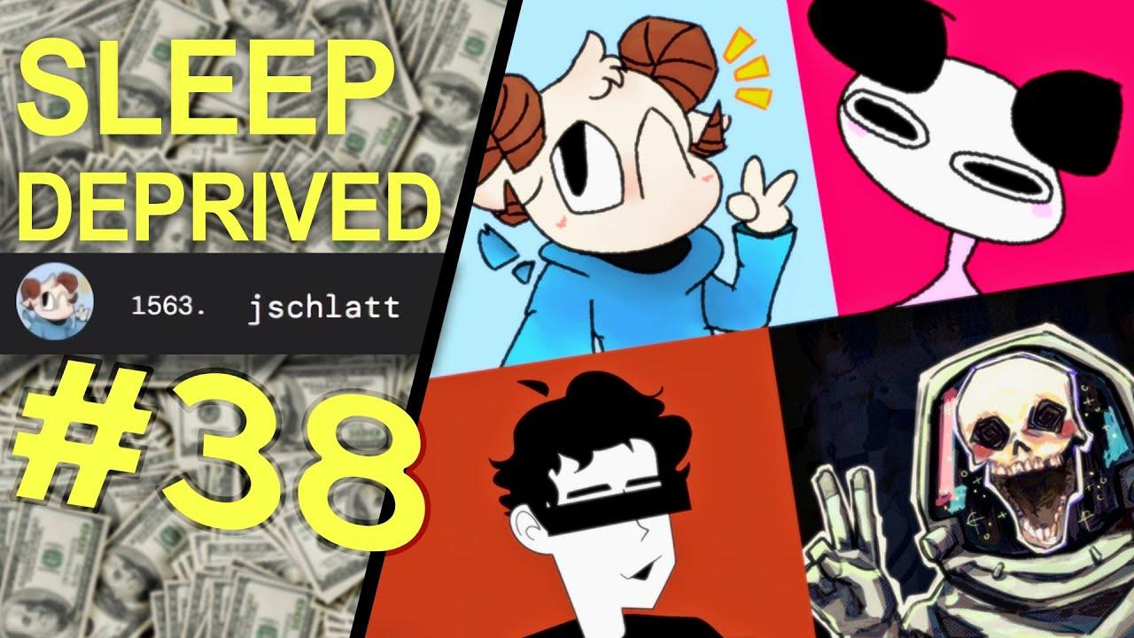 Schlatt's twitch earnings LEAKED - Sleep Deprived Podcast #38