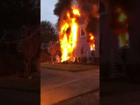 INFERNO (VIDEO): Beloved Old Tappan Family With Infant Twins Displaced In Post-Christmas Fire