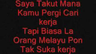 Repeat youtube video Lagu Cina Babi With Lyrics
