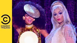 The Queens Hit The Runway | RuPaul's Drag Race All Stars 3