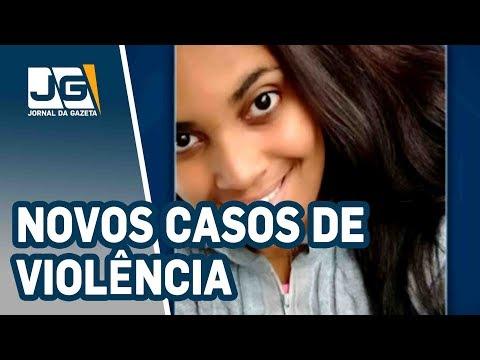 Novos casos de violência contra a mulher