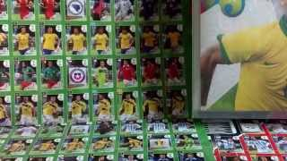 UNBOXING MEGA STARTER PACK PANINI FIFA WORLD CUP 2014