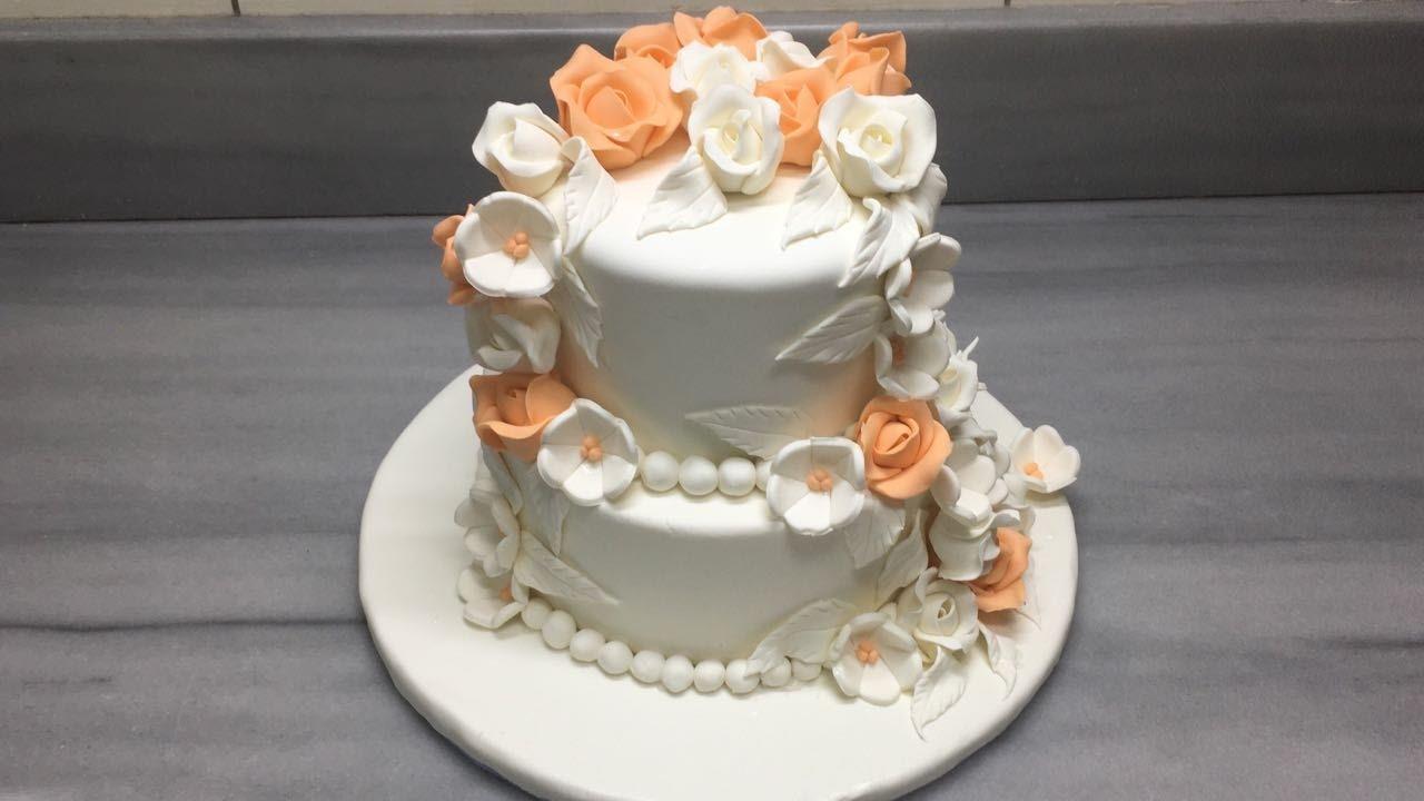 Harika Bir Nişan Pastası Yapımı
